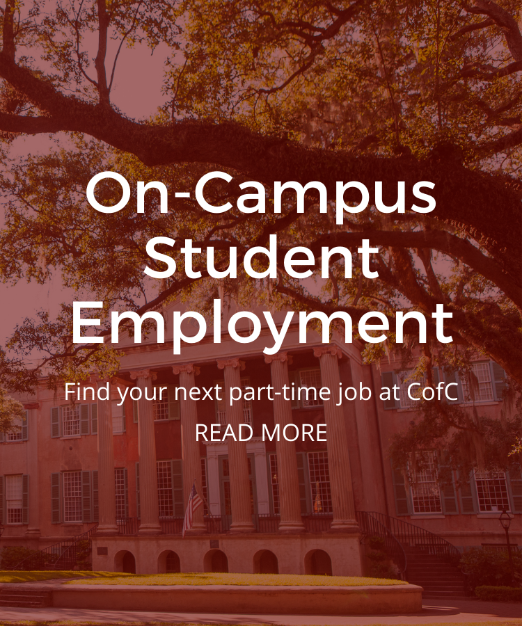 On-Campus Student Employment Promo