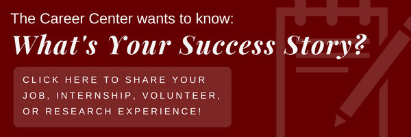 Submit your success story by clicking this image.